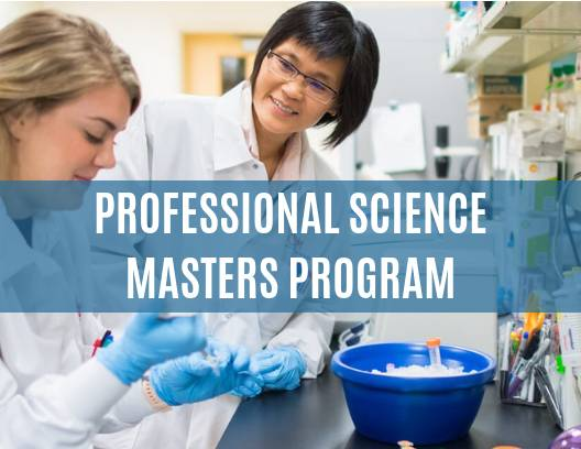 Professional Science Masters Program